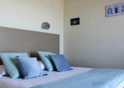 Chambre double Hôtel de la Plage Barcarès