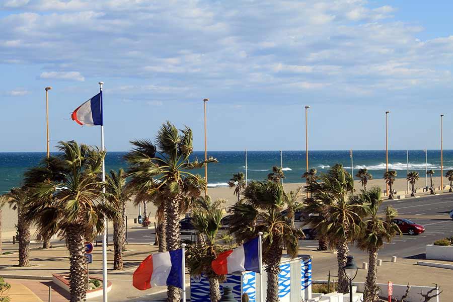 Barcarès Pavillon bleu