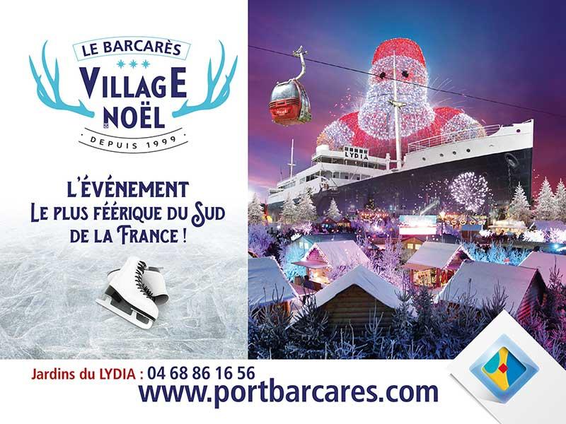 Votre hôtel à proximité du Village de Noël du Barcarès